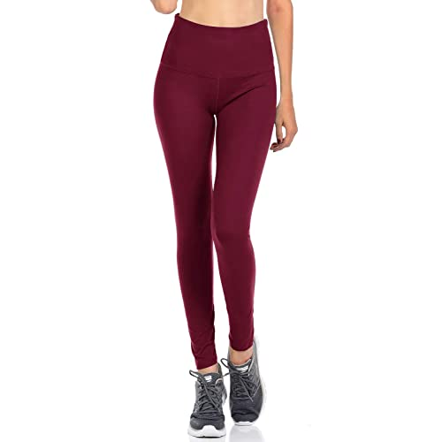 Burgundy Leggings: Amazon.c