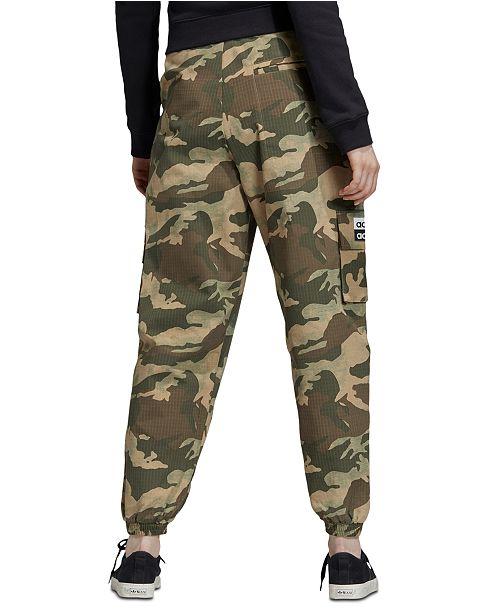 adidas Women's Camo-Print Cargo Pants & Reviews - Women - Macy