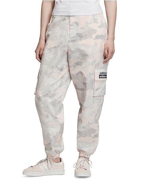 adidas Women's Camo Cargo Pants & Reviews - Women - Macy