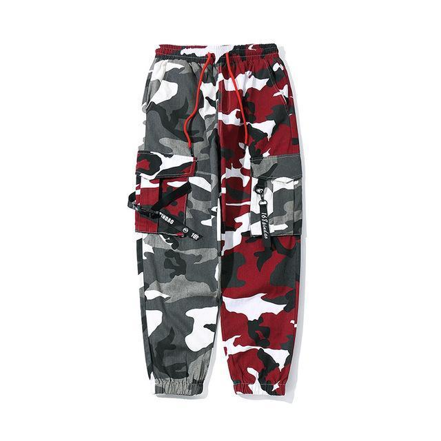 Split Camo Cargo Pants – Urban Socie