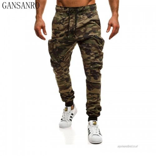 Tactical Cargo Pants Men Combat Army Military Camo Pants Cotton .