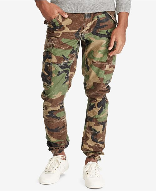 Polo Ralph Lauren Men's Camo Cargo Pants & Reviews - Pants - Men .