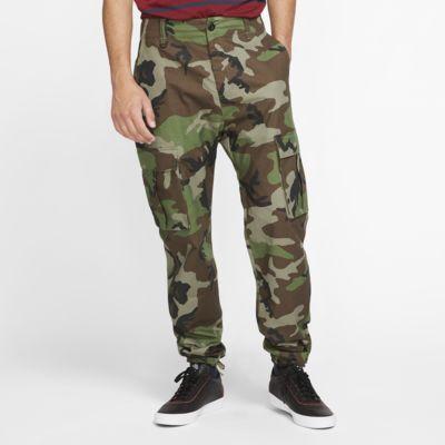Nike SB Flex FTM Men's Camo Skate Cargo Pants. Nike.c