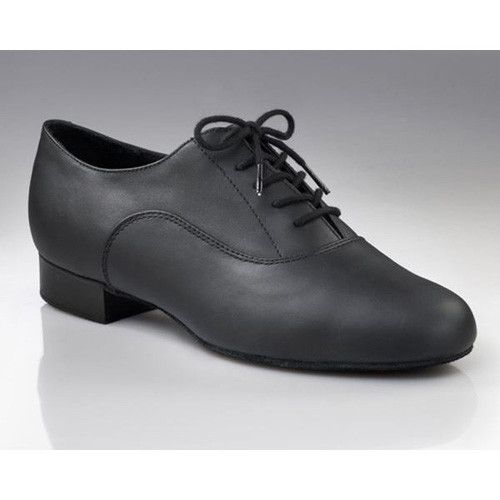 Capezio Men's Standard Oxford Ballroom Shoe BR02 - Black and Pink .