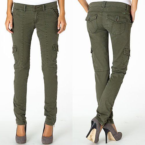 The 10 Best Olive Skinny Cargo Pants for $60 or Less | Cargo pants .