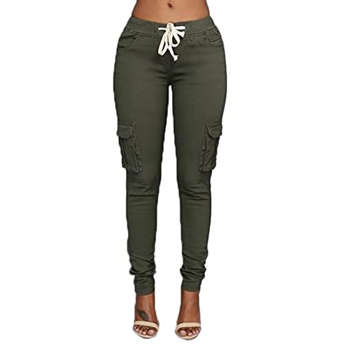 Olive Green Cargo Pants: Amazon.c