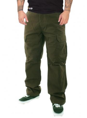 Dickies New York Cargo Pants Olive Green - RudeCru.c