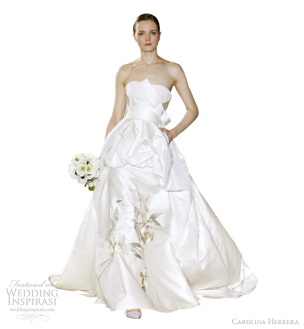 Carolina Herrera Wedding Dresses Spring 2012 | Wedding Inspira