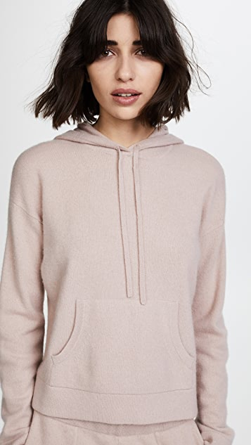 Naadam Oversized Cropped Cashmere Hoodie | SHOPB