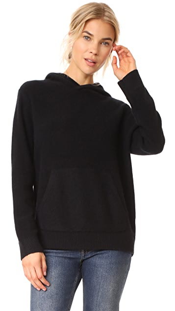 Vince Pullover Cashmere Hoodie | SHOPB