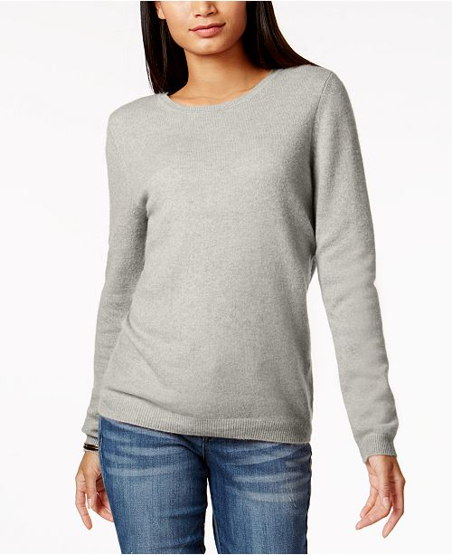 Charter Club Petite Cashmere Sweater, Created for Macy's & Reviews .
