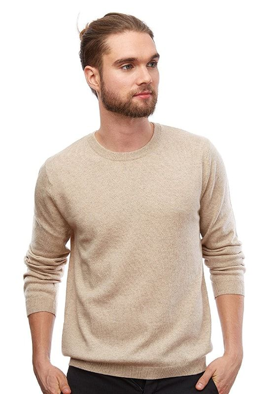 16 Luxurious Cashmere Sweaters for Men | Cashmere sweater men, Men .