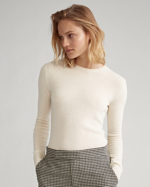 Washable Cashmere Sweat