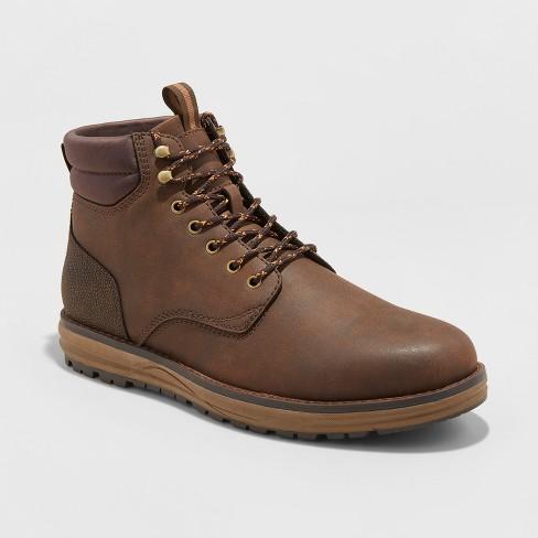 Men's Benjamin Casual Fashion Boots - Goodfellow & Co™ Brown 7 .