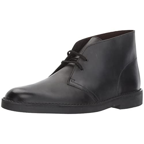 Men's Casual Black Boots: Amazon.c