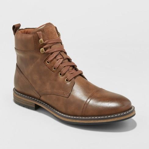 Men's Jeffery Casual Fashion Boots - Goodfellow & Co™ Brown : Targ