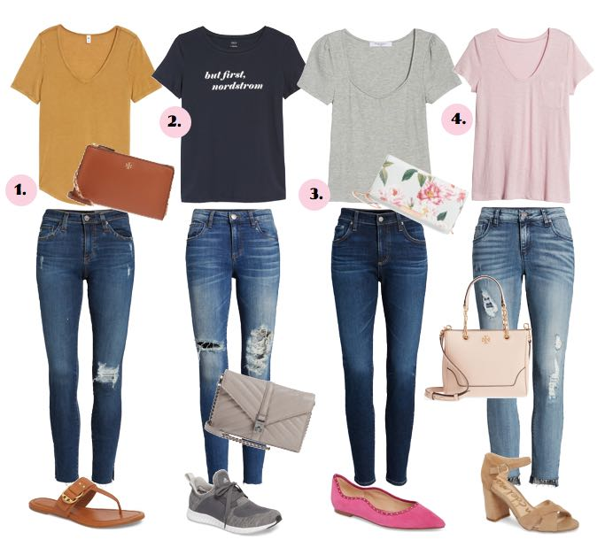 Four Casual Outfit Ideas / Nordstrom Anniversary Sale Public .