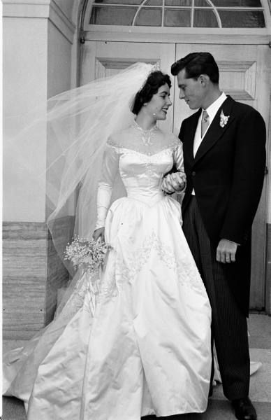 Vintage French weddings 1920s-1970s | Vintage wedding, Celebrity .