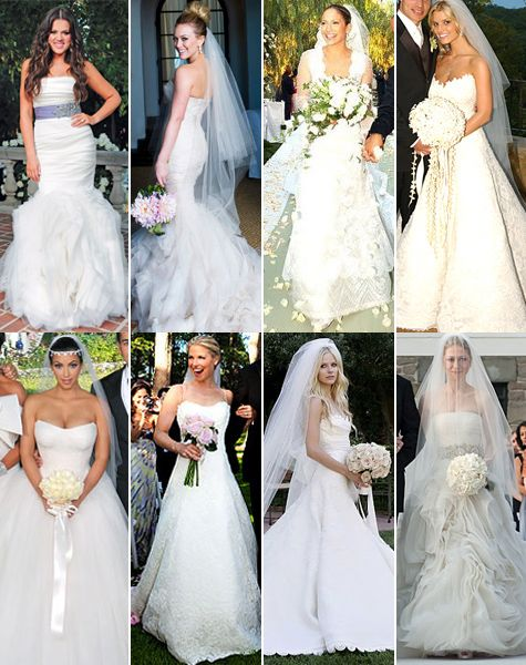 Vera Wang Wedding Gowns | Celebrity wedding dresses, Wedding .