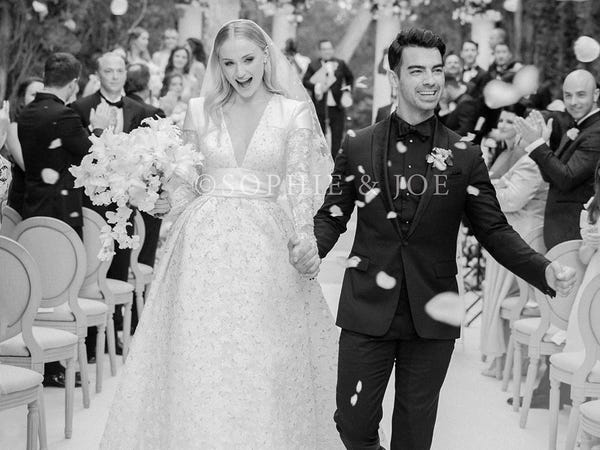 The best celebrity wedding dresses from the last 100 years - Insid
