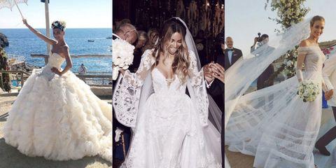 Celebrity Brides of 20