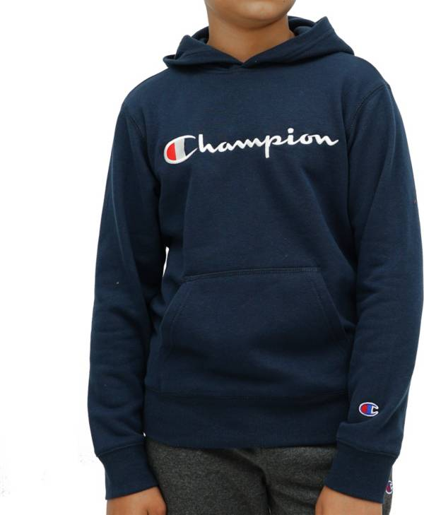 Champion Boys' Script Fleece Hoodie | DICK'S Sporting Goo