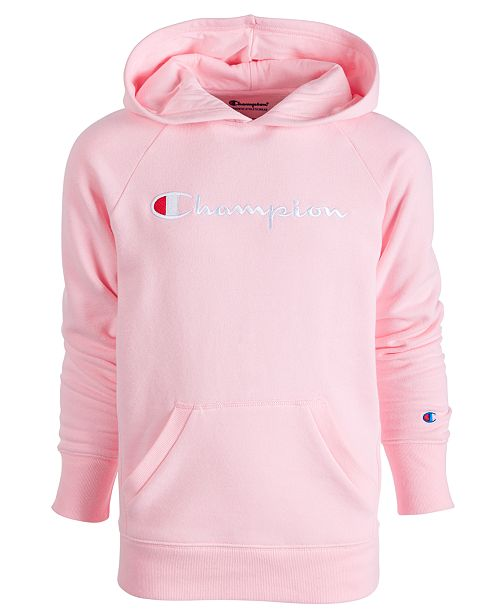 Champion Little Girls Logo-Print Hoodie & Reviews - Sweaters .