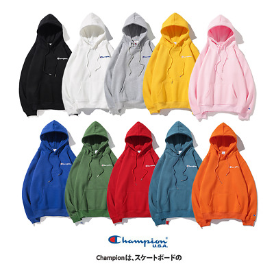 2020 Women's Men's Classic Champion Hoodies Embroidered Hooded .