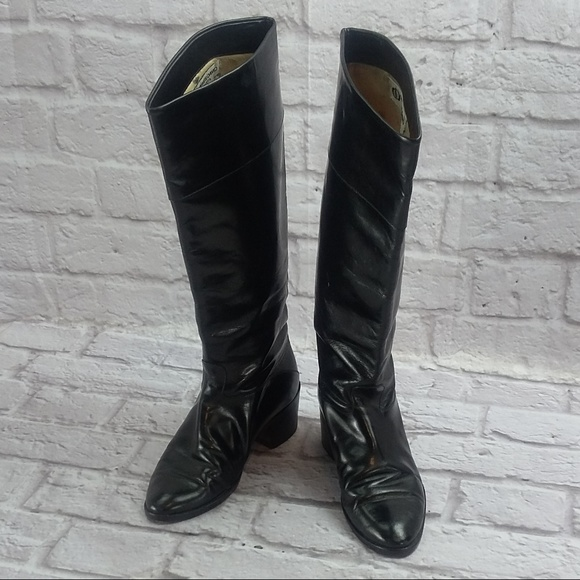 Charles David Roberta Shoes | Vintage Womens Tall Boots 7 | Poshma