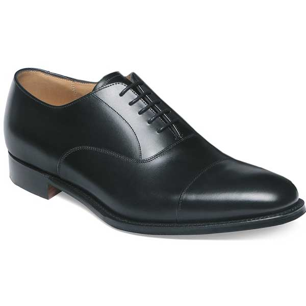 CHEANEY Shoes - Mens Lime Oxfords - Black Ca