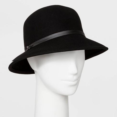 Women's Felt Cloche Hat - A New Day™ One Size : Targ