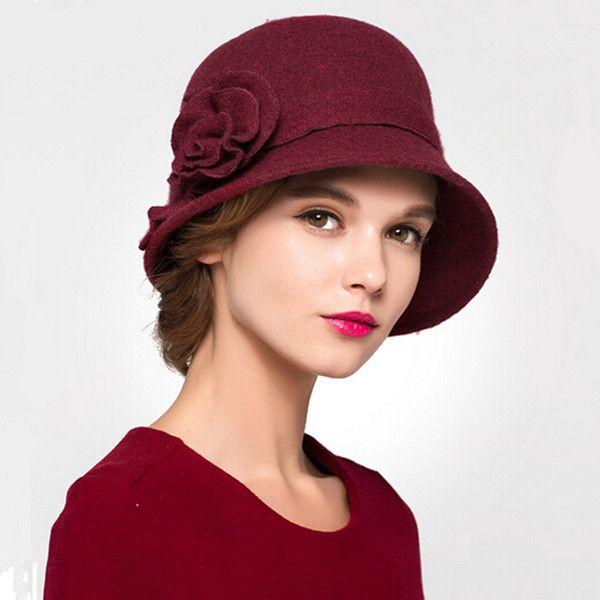 Pin by Marijka on Hats | Wool cloche hat, Hats for women, Wool cloc