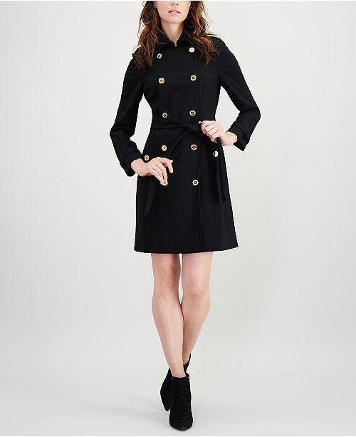 Calvin Klein Military-Coat Dress & Reviews - Dresses - Women .