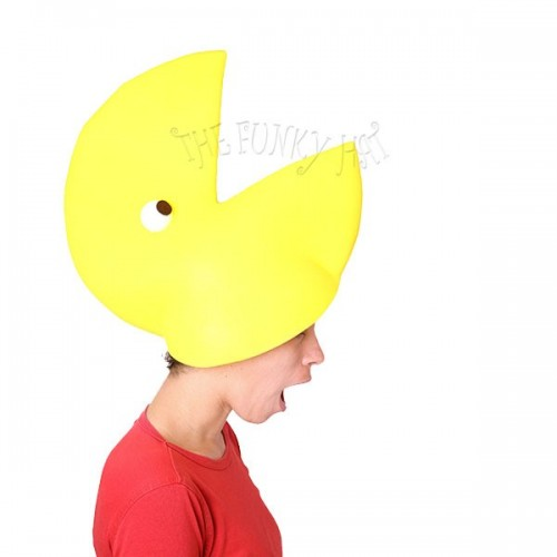 Pacman Hat - Thefunkyhat.co.uk: cool hats, funky hats for even