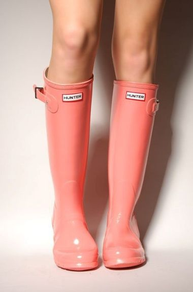 Hunter Coral Boots | Hunter rain boots, Coral boots, Sty