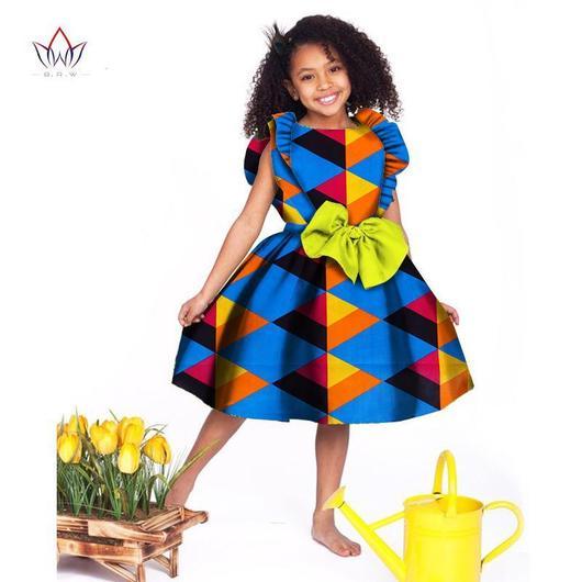2018 African Women Clothing kids dashiki Traditional cotton .