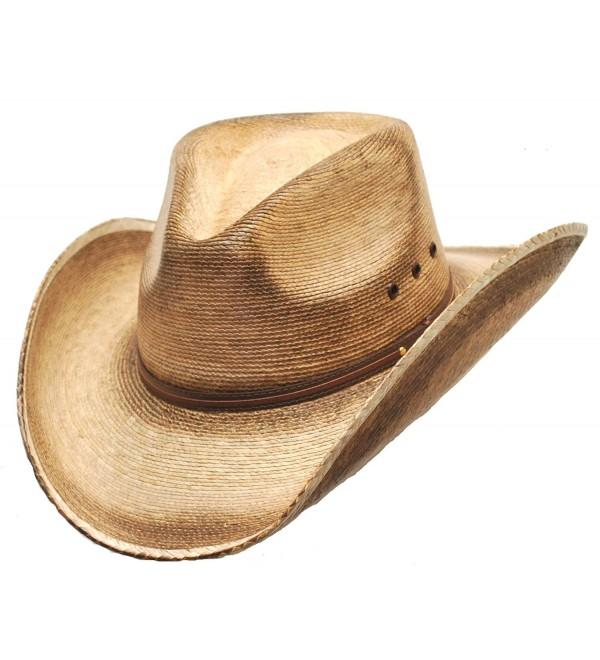 Western Pinch Front Straw Cowboy Hat For Men CL115WOJ3