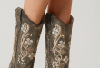 Corral Embroidered Cowboy Boot - Women's Shoes | Buckle | Leather .