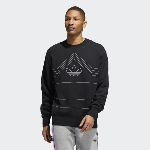 adidas Rivalry Crewneck Sweatshirt - Black | adidas