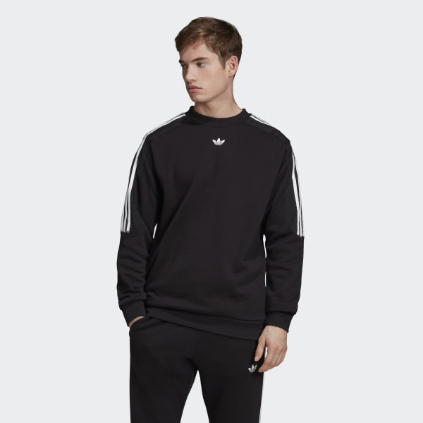 adidas Radkin Crewneck Sweatshirt - Black | adidas