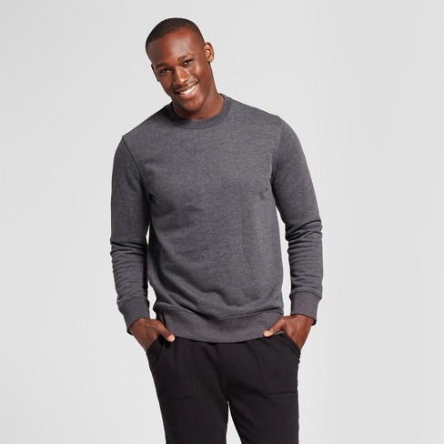 Men's Standard Fit Fleece Crew Neck Sweatshirt - Goodfellow & Co .