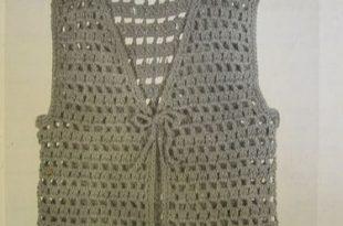 Easy to Make Crochet Vest | Crochet vest pattern, Crochet .