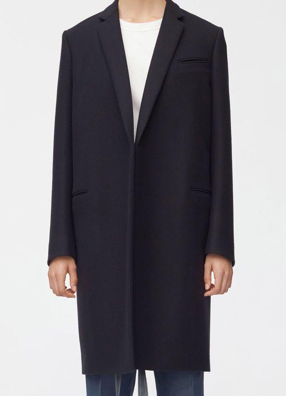 Crombie coat in double face wool | CÉLINE | Crombie coat, Celine .