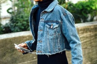How To Wear A Cropped Denim Jacket For Fall (Le Fashion) | How to .
