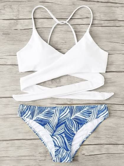 cute bikinis for 13 year olds | Tropical print bikinis, Girls .