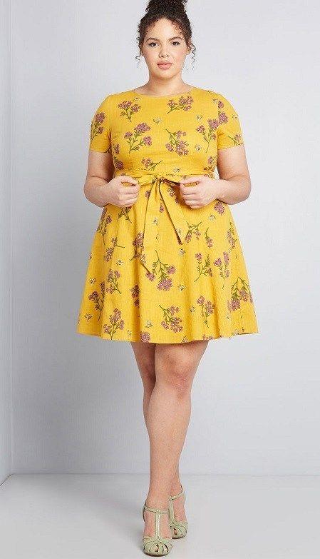 Plus Size Yellow Maxi Dresses - New Styles This Season - | Plus .