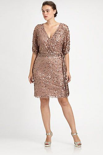 Plus-Size New Years Eve Dresses - Cute, Sparkly Styles | Best plus .