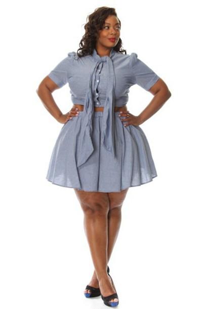 Dress Plus Size Cute Set Pinkclubwear Trendy Curvy Cheap Prom .