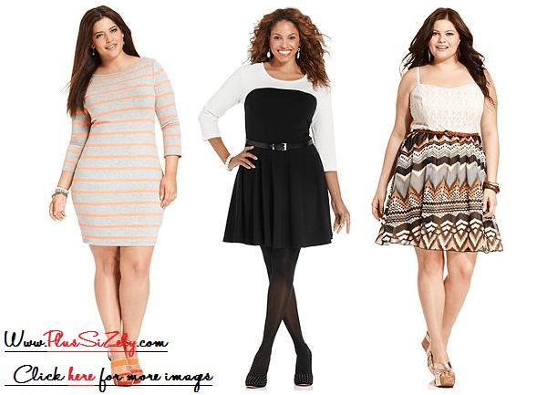 Girls Plus Size Dresses, Look Feminine | www.PlusSizely.c
