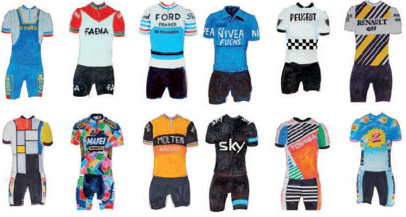Wild Kits: The History of Cycling Apparel | GearJunk